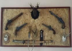 Fegyver gyűjtemény London-1776 vadász hagyaték