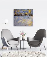 Vörös Edit: Modern Abstract 60x50 cm