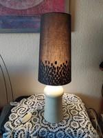 Kerámia lámpa szövet ernyő vele
