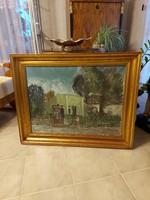 Gera Gyula gyönyörű képcsarnokos festménye!