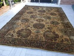 Antikolt hatalmas 250x330 cm minőségi 100% gyapjú perzsa szőnyeg MK_03