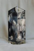Art deco stílusú, nagy méretű exkluzív design váza
