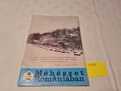 Méhészet Romániában folyóirat 1980 december