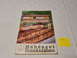 Méhészet Romániában folyóirat 1981 február