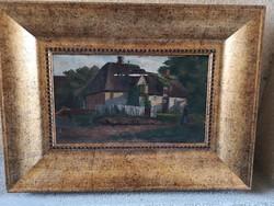 Oalj kép, kis méret 18x30 Jeszenszky 1913