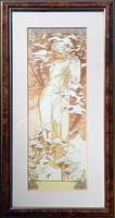 Alphonse Mucha - Winter 1900