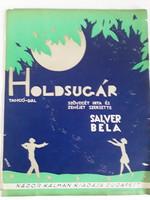 Holdsugár kotta Byssz Róbert címlapjával  1920as évek  4 p.