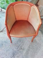 Chippendale , neobarokk hálószoba fotel-olasz bútor