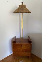 Italtartó /TV szekrény lámpával