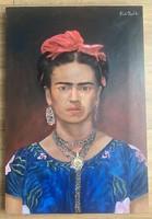 Frida Kahlo olaj