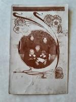 Régi képeslap 1915 fényképes levelezlőlap