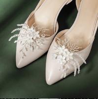 Esküvői, menyasszonyi, alkalmi cipődísz, cipőklipsz ES-CK17