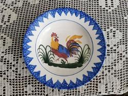 Telkibánya tányér, kakasos