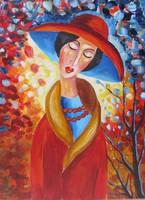 B.Tóth Irisz-ABSZTRAKT festmény
