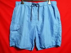 54-56-os, George, nagy méretű, gumis derekú, rövid nadrág, sort.