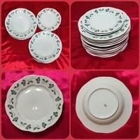 Zsolnay porcelán étkészlet