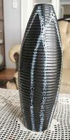 Retro váza Tófej kék