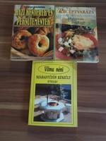 3 db egyben Mediterrán ételek, Vilma néni szabadtűzön készült ételei, Házi kenyerek és péksütemények