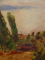 EMŐD AURÉL (BP. 1897-1958 ) : BALATONI TÁJ