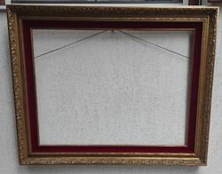 Gyönyörű Belga képkeret tükör, festmény keret, Brüsszeli jellegű-Belgium 60x 80 cm.