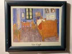 Vincent van Gogh - The Bedroom festményének printje