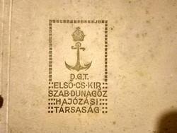 Esztergom, D.G.T. album. első Császári és Királyi Dunagőzh. társaság, Franz Joseph I.,Csernoch