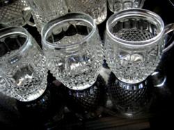 Bohemia kínáló, pohár, váza, gyertyatartó