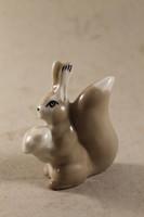 Art deco porcelán mókus gombával 891
