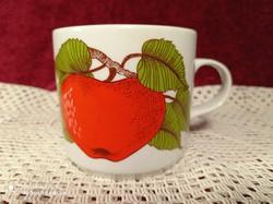 Alföldi porcelán alma mintás bögre