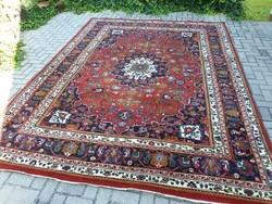 Hatalmas indo tabriz 256x340 kézi gyapjú perzsa szőnyeg MM_804 ingyen posta
