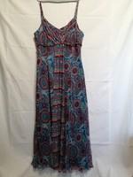48-as Monsoon női nyári, kánikula,  MAXI  ruha