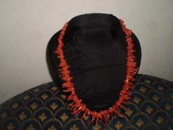 Régi  Koráll nyaklánc
