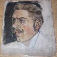 Antik festmény hagyatékból