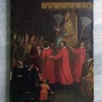Vatikáni festmény, nagyon régi.