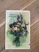 Üdvözlet Névnapjára képeslap - 1954 -es