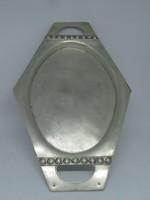 800 ezrelékes ezüst tálca, érdekes, hatszögletű forma