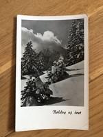 Havas tájkép képeslap - 1954 -es