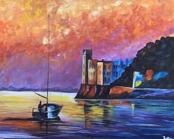 Akril festmény