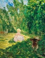 Bernard, A. jelzéssel- Festő a szabadban
