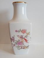 Hollóházi paradicsommadaras váza