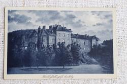 Régi képeslap Parád fürdő , grófi kastély