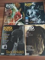 4 db Fotó Videó Magazin egyben