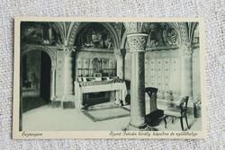 Régi képeslap Esztergom Szent István király kápolna és szülőhelye