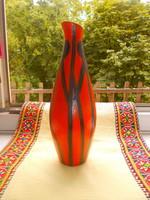 Tófej RETRO  KERÁMIA  váza
