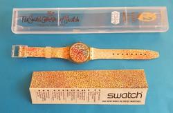 Gyüjtőklub tagsági Swatch karóra  GZ 121, Collectors Club Special