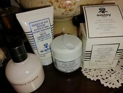 Szebbnél szebbek molett nálam luxus arcápoló csomag Sisley arckrém Lot224950 maszk  testápoló