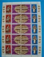 3 db Vatikáni kápolna kisív 1982 évi