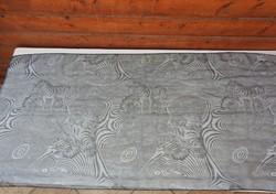 Vasaley stílusú zebrák - kendő