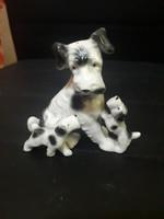 Eladó porcelán kutyák
