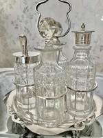 Gyönyörű angol asztali EPNS 828 ezüst készlet